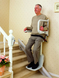 a perch stairlift